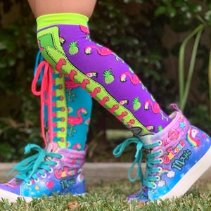 Madmia - Fruity Flamingos Socks