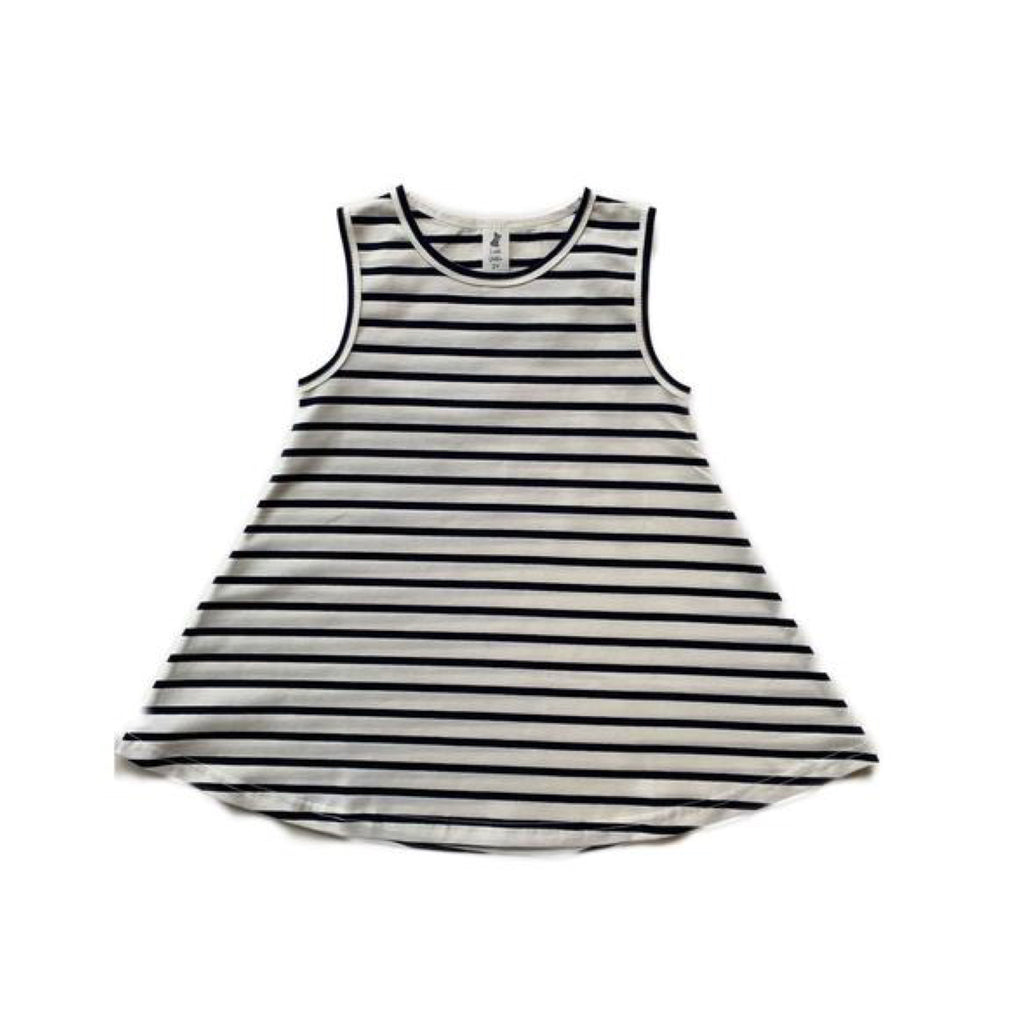 Little Wolfie - Swing Dress Stripe