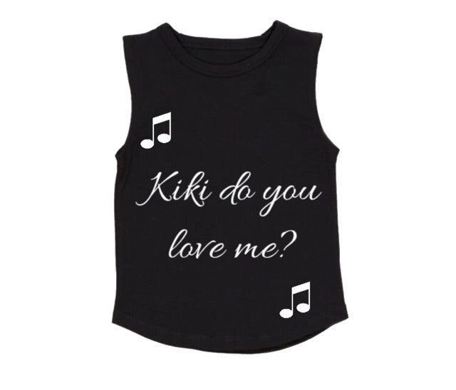 MLW By Design - Kiki Tank | White or Black