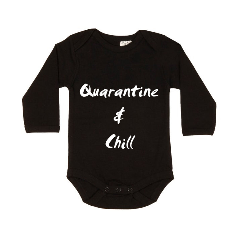 MLW By Design - Quarantine & Chill Bodysuit | Black