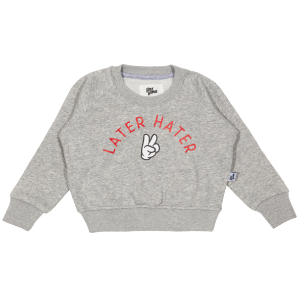 The Little Homie - Later Hater Sweater | Grey