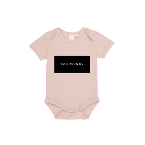 MLW By Design - FKN CLINGY Short Sleeve Bodysuit | Pink