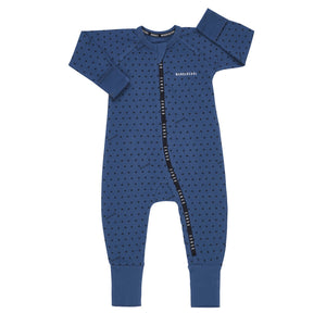 BONDS - Wondercool Cotton Elastane Zippy | Sunshine Baby French Chambray