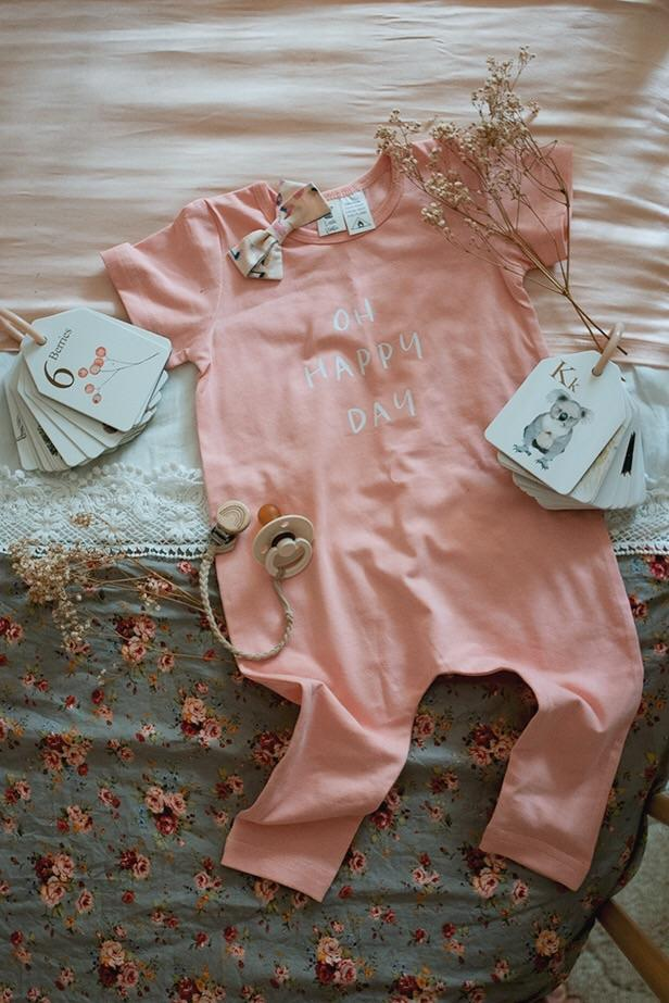 Little Wolfie - Oh Happy Day Romper