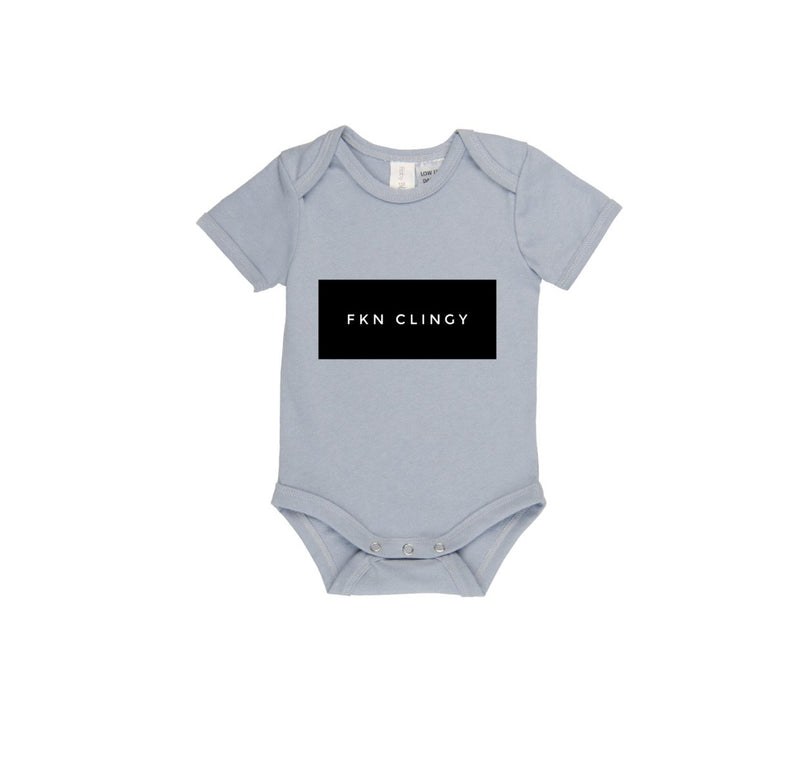 MLW By Design - FKN CLINGY Bodysuit | Blue