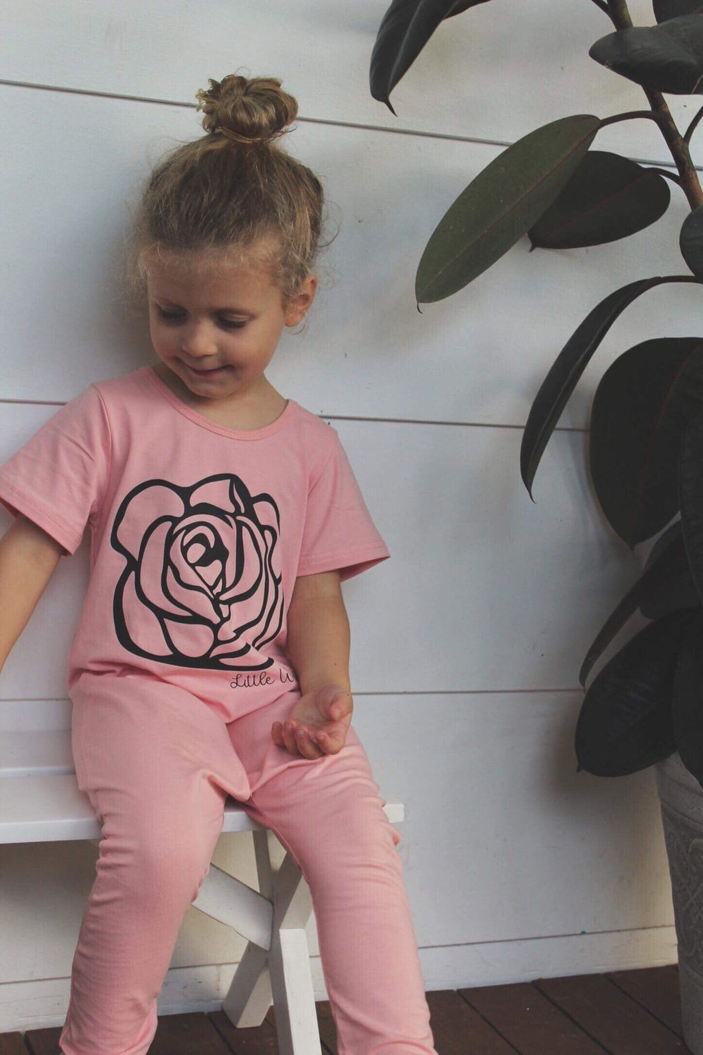 Little Wolfie - Wolfie Rose Romper | 2 Colours