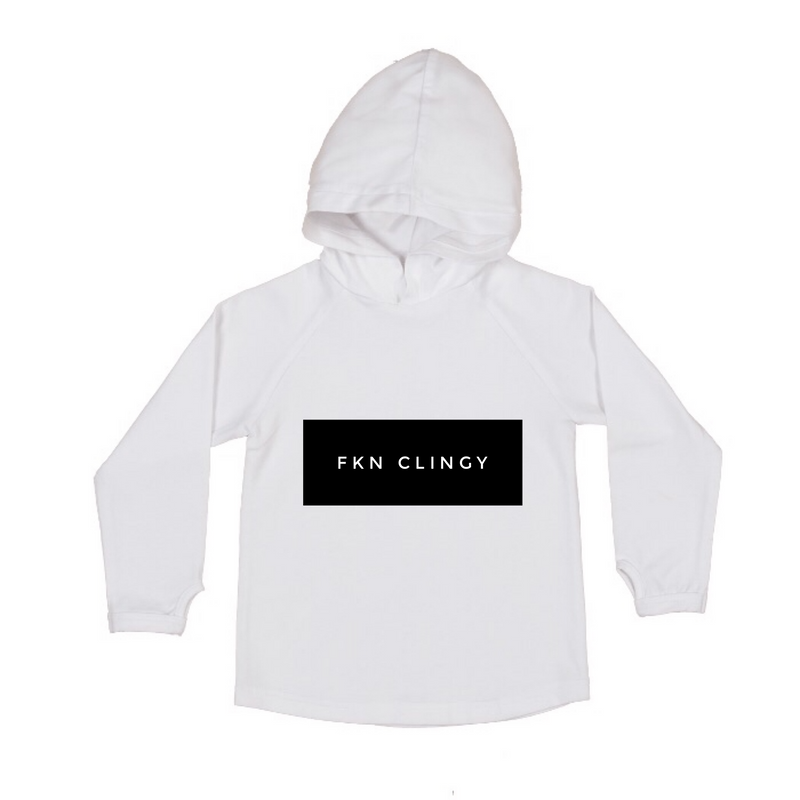 MLW By Design - FKN Clingy Hoodie | White or Black