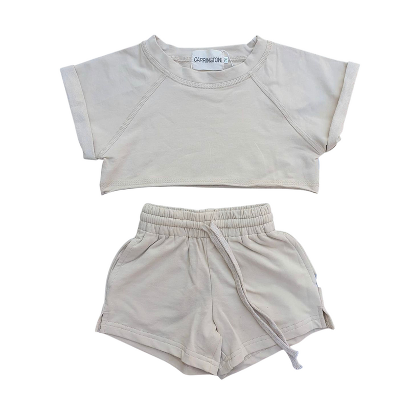Carrington Kids - Crop Set | Beige