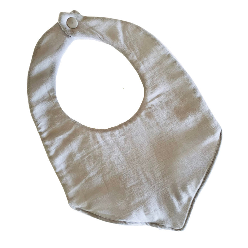 Olive June and Co - Handmade Basic Bib | Dust