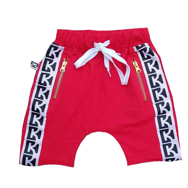 Carrington Kids - Red CK Shorts - CLEARANCE