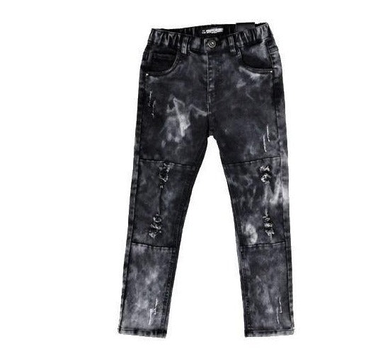 TPTB - Distressed Authority Jeans | Black - CLEARANCE