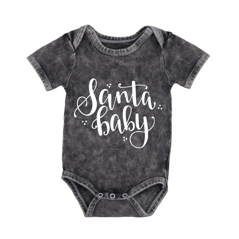 MLW By Design - Santa Baby Bodysuit | White