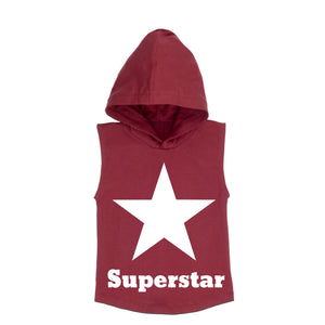 MLW By Design - Superstar Sleeveless Hoodie