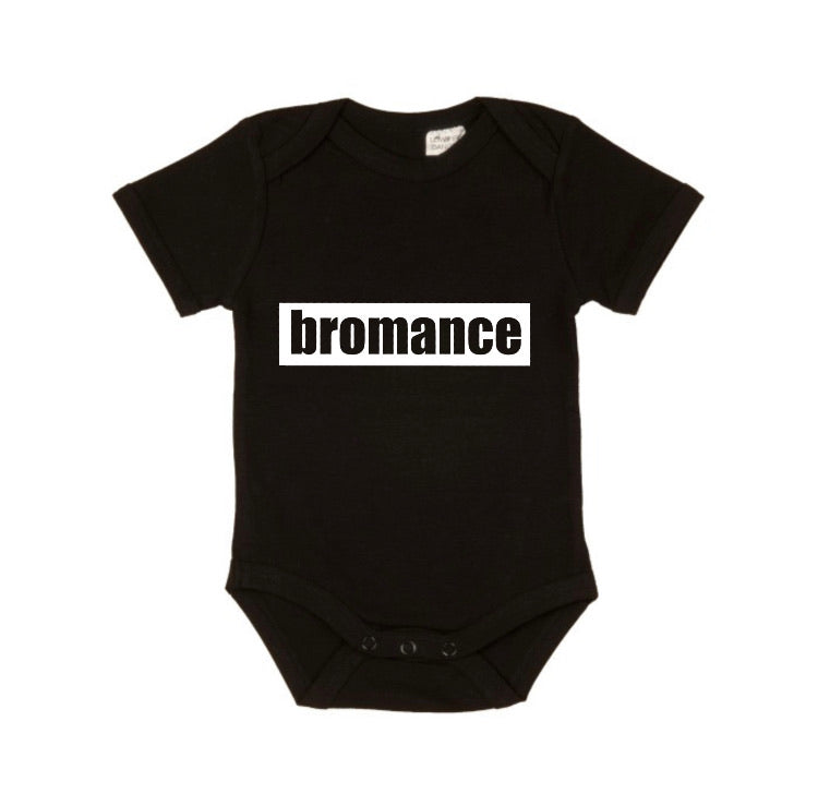 MLW By Design - Bromance Bodysuit Short Sleeve | White or Black