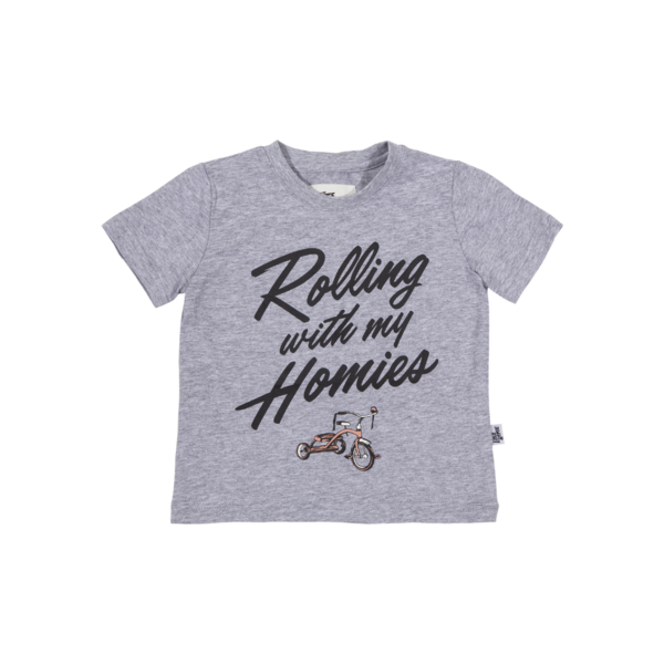 The Little Homie - Homie Tee | Grey