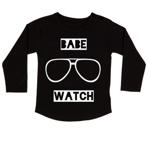 MLW By Design - Babe Watch Long Sleeve Tee