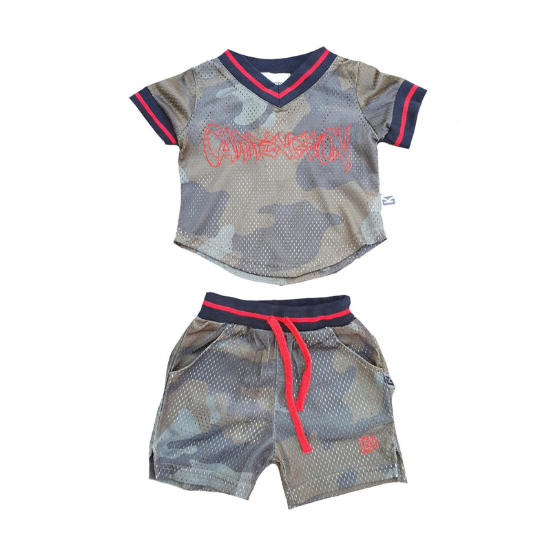 Carrington Kids - Mesh Camo Set