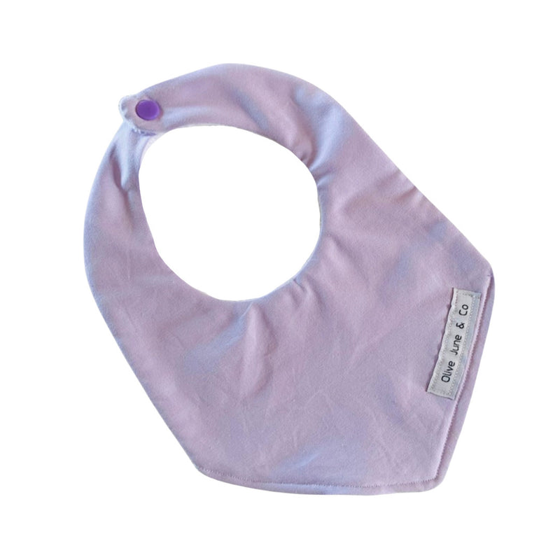 Olive June and Co - Handmade Basic Bib | Lilac