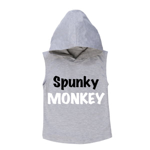 MLW By Design - Spunky Monkey Sleeveless Hoodie