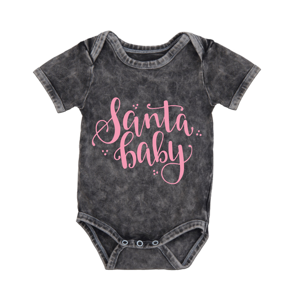 MLW By Design - Santa Baby Bodysuit | Pink