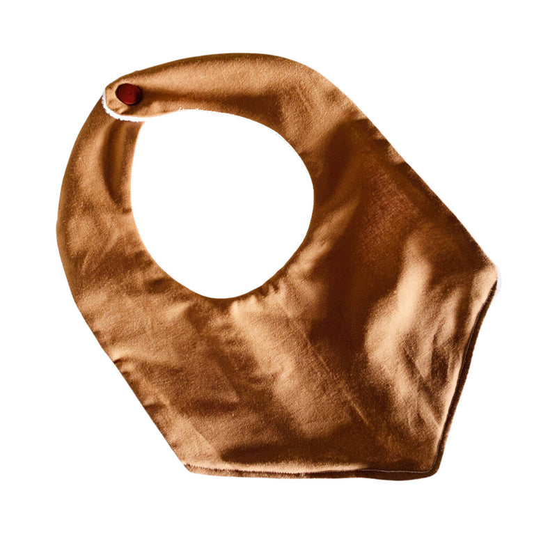 Olive June and Co - Handmade Basic Bib | Bronze