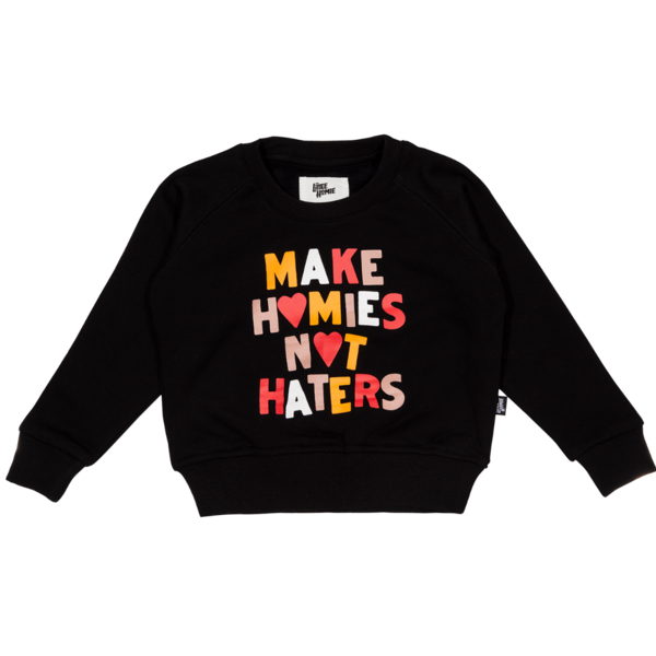 The Little Homie - Hater Sweater | Black