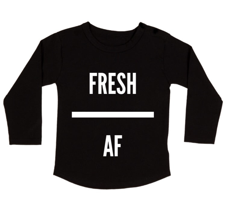MLW By Design - FRESH AF Long Sleeve Tee