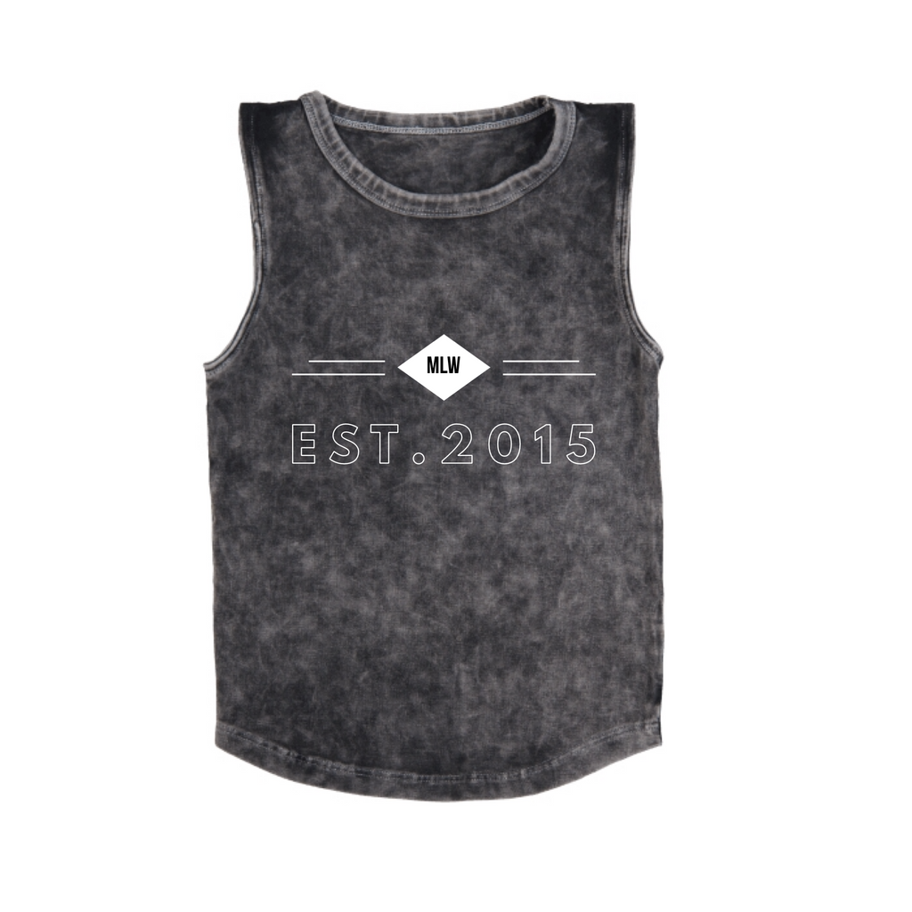 MLW By Design - MLW EST 2015 Stonewash Tank