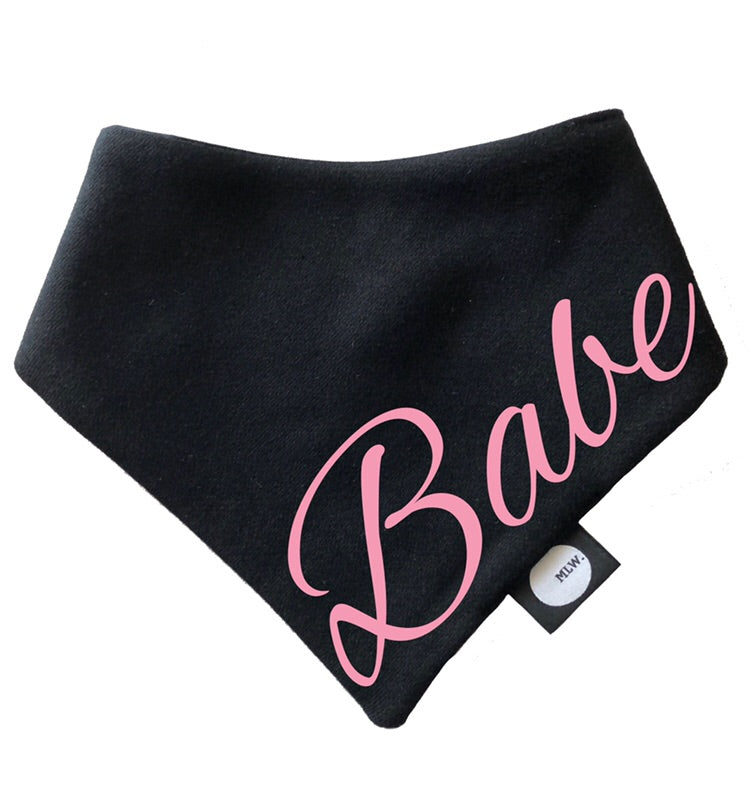 MLW By Design - Babe Bandana Bib