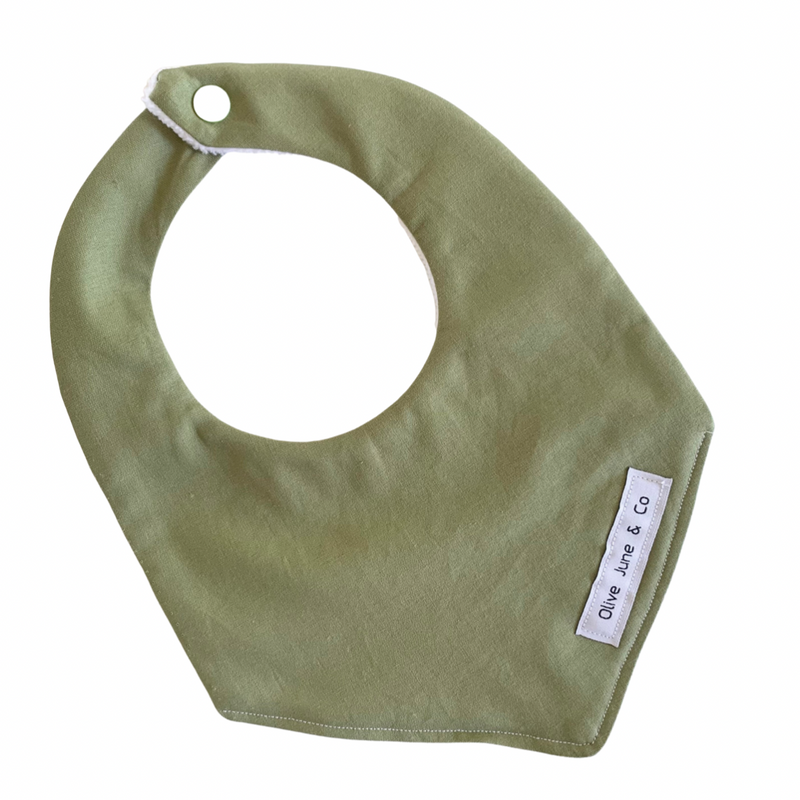 Olive June and Co - Handmade Basic Bib | Olive
