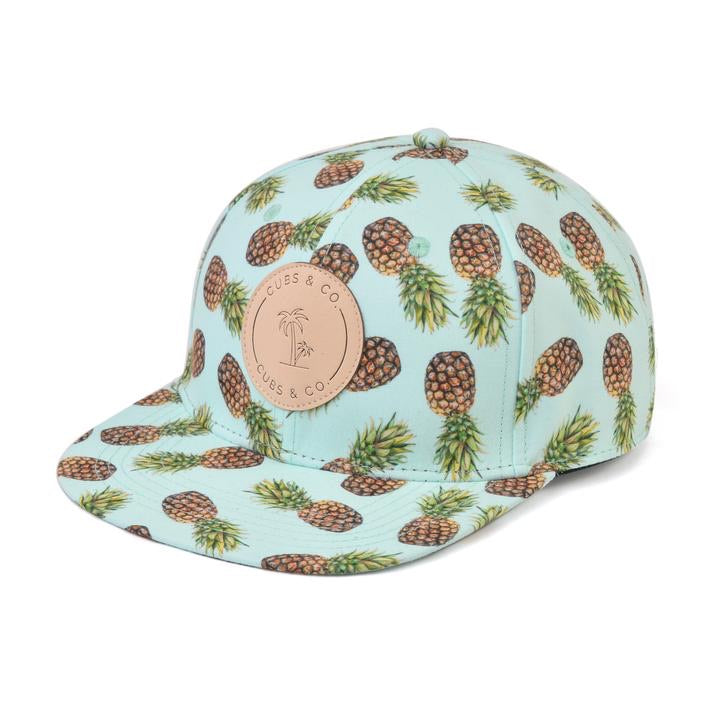 Cubs & Co - AQUA PINEAPPLE WITH LOGO