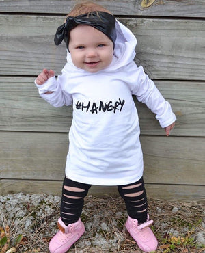 MLW By Design - #HANGRY Hoodie | WHITE