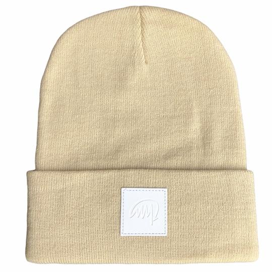 Mini Maxwell - Latte Signature Beanie