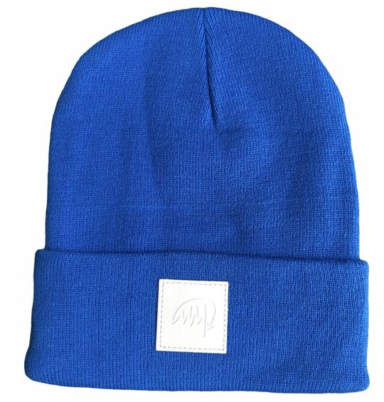 Mini Maxwell - Royal Blue Signature Beanie