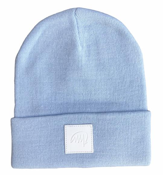 Mini Maxwell - Sky Blue Signature Beanie