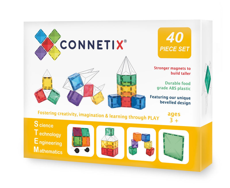 Connetix Tiles - 40 Piece Expansion Pack