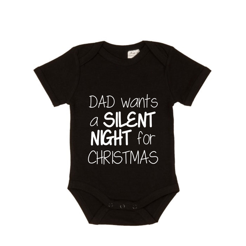 MLW BY DESIGN - Silent Christmas Bodysuit | Black or White