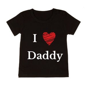 MLW By Design - Love Daddy | Black or White