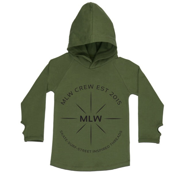 MLW By Design - S.S.S Hoodie | Khaki