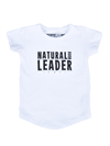 TPTB - Natural Born Leader Tee | White