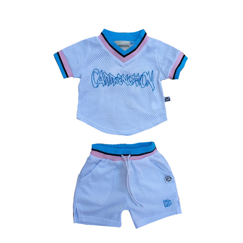 Carrington Kids - Mesh White Set