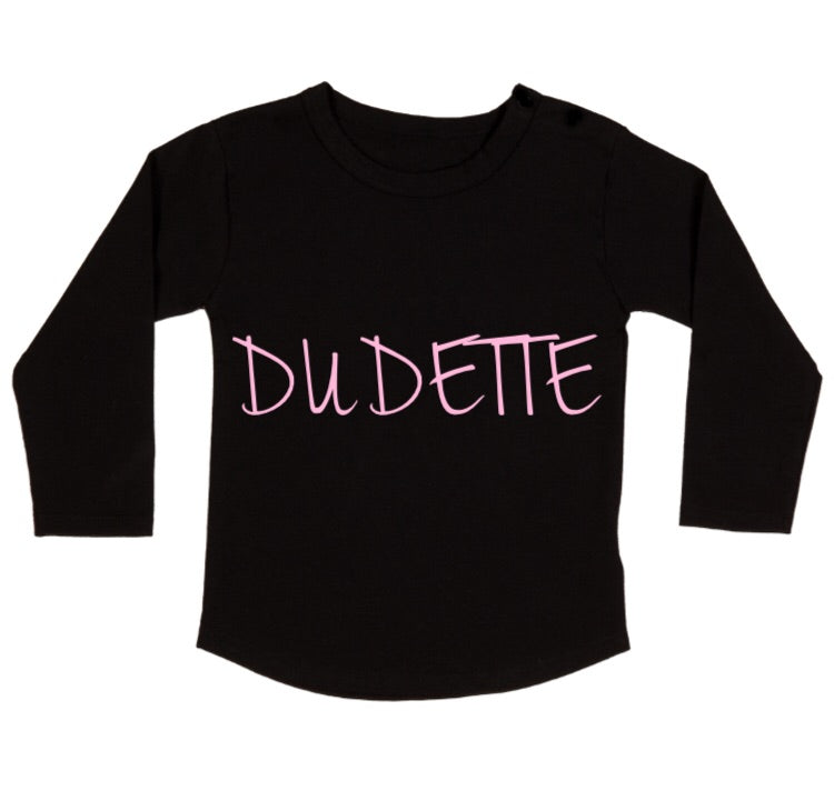 MLW By Design - Dudette Long Sleeve Tee