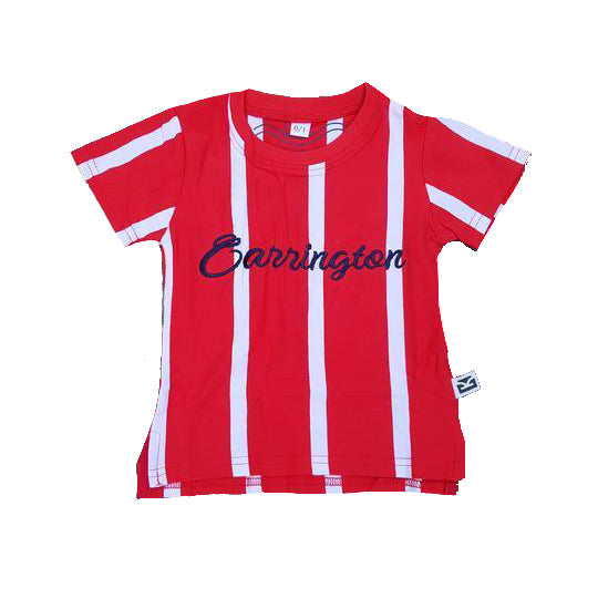 Carrington Kids - Stripe Red Tee