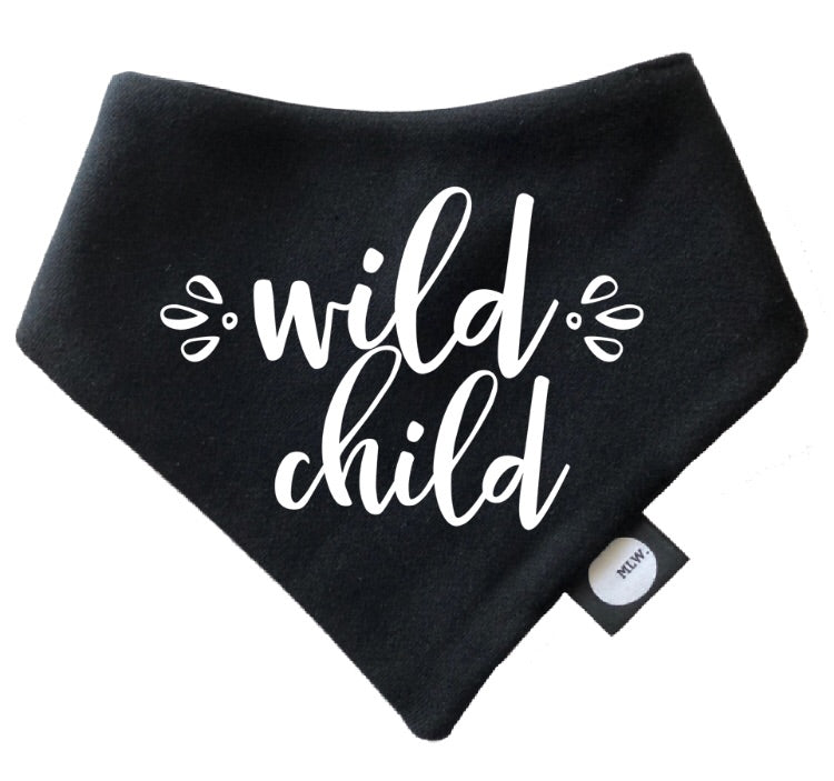 MLW By Design - Wild Child Bandana Bib