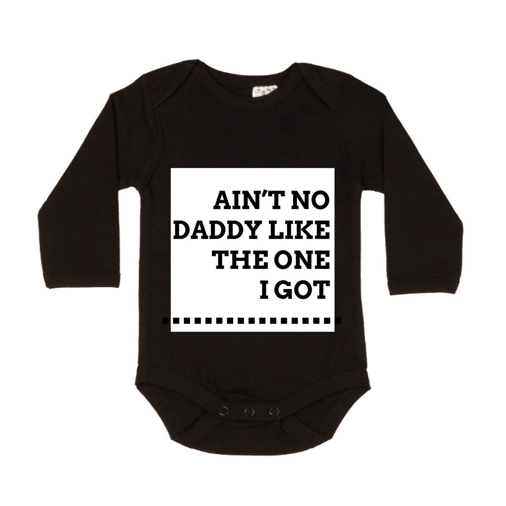 MLW By Design - Ain't No Daddy Bodysuit | White or Pink Print