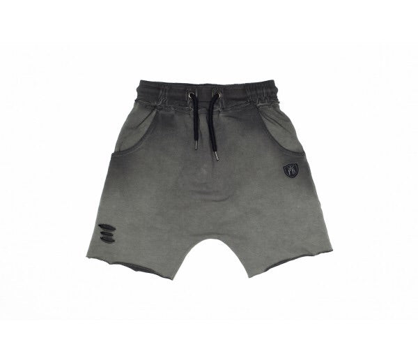 TPTB - Titanium Raw Edge Shorts