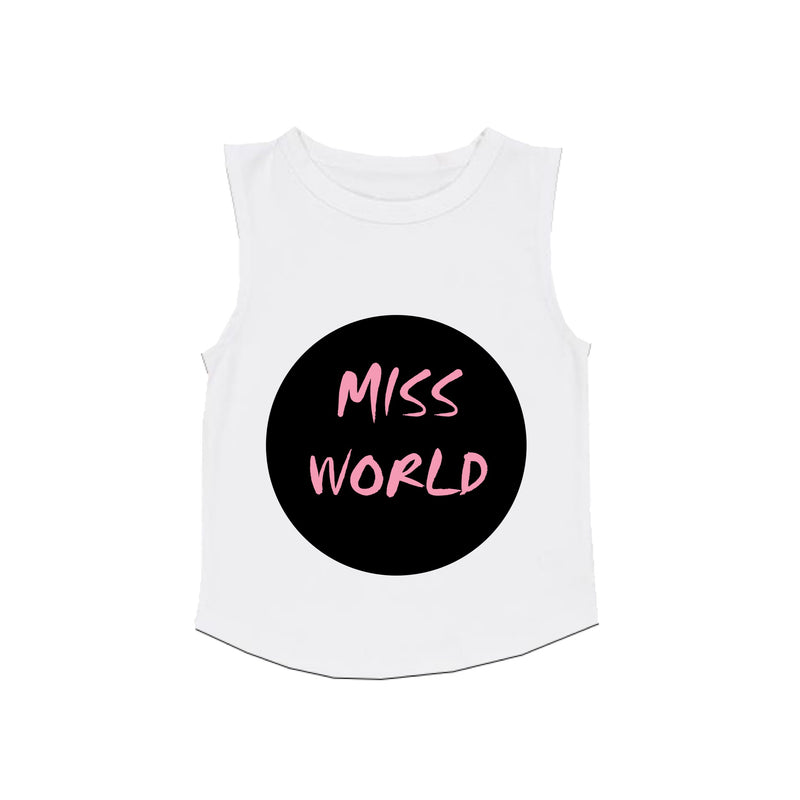 MLW By Design - Miss World Tank | White or Black