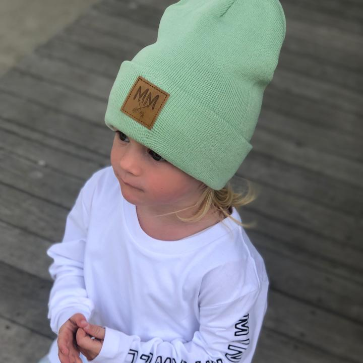 Mini Maxwell - MM Knit Beanie Mint