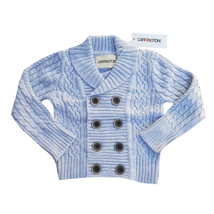 Carrington Kids - Light Grey Cardigan