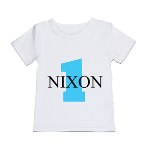 MLW By Design - Personalised Birthday Tee | Blue